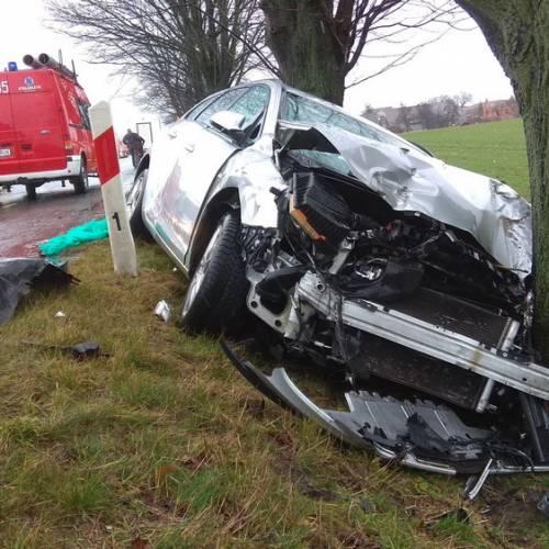 8. Zalesie Śląskie – Wypadek drogowy