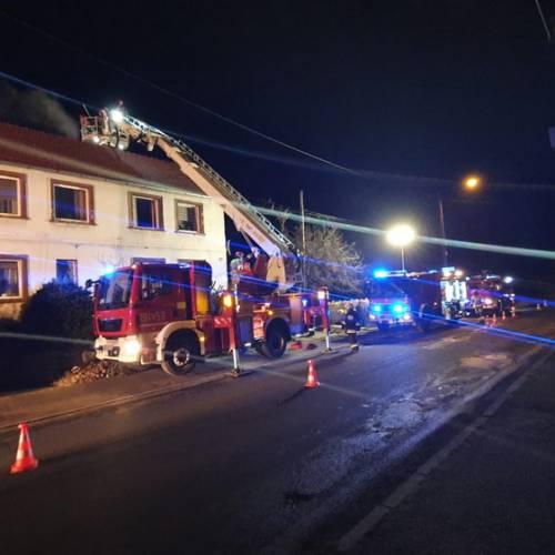 9. Lichynia – Pożar w przewodzie kominowym