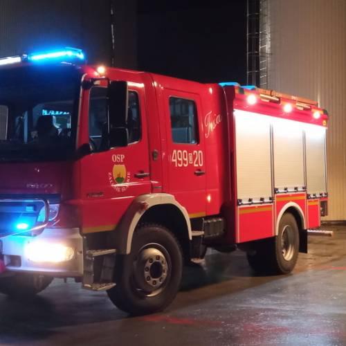 67. Strzelce Opolskie – Pożar w zakładzie produkcyjnym